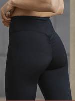 Basic Scrunch Booty Tights - Black - Be Activewear