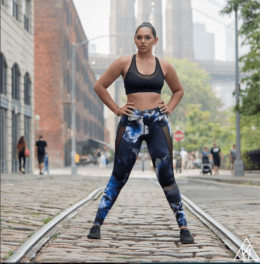Soho Mesh Tight - Midnight Garden - Be Activewear