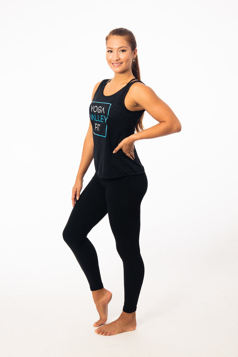 Backless YVF Jersey Tank - Be Activewear