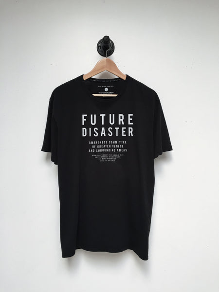 Lone Wolfs Future Disaster T Shirt in black