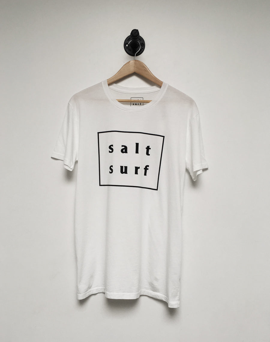 Salt Surf Logo Tee - White
