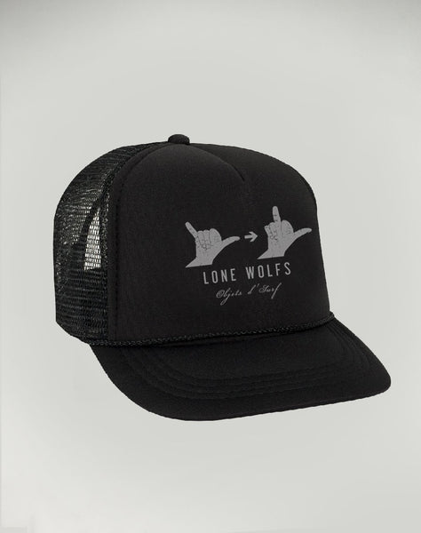 Shaka Fuck you Lone Wolfs Hat