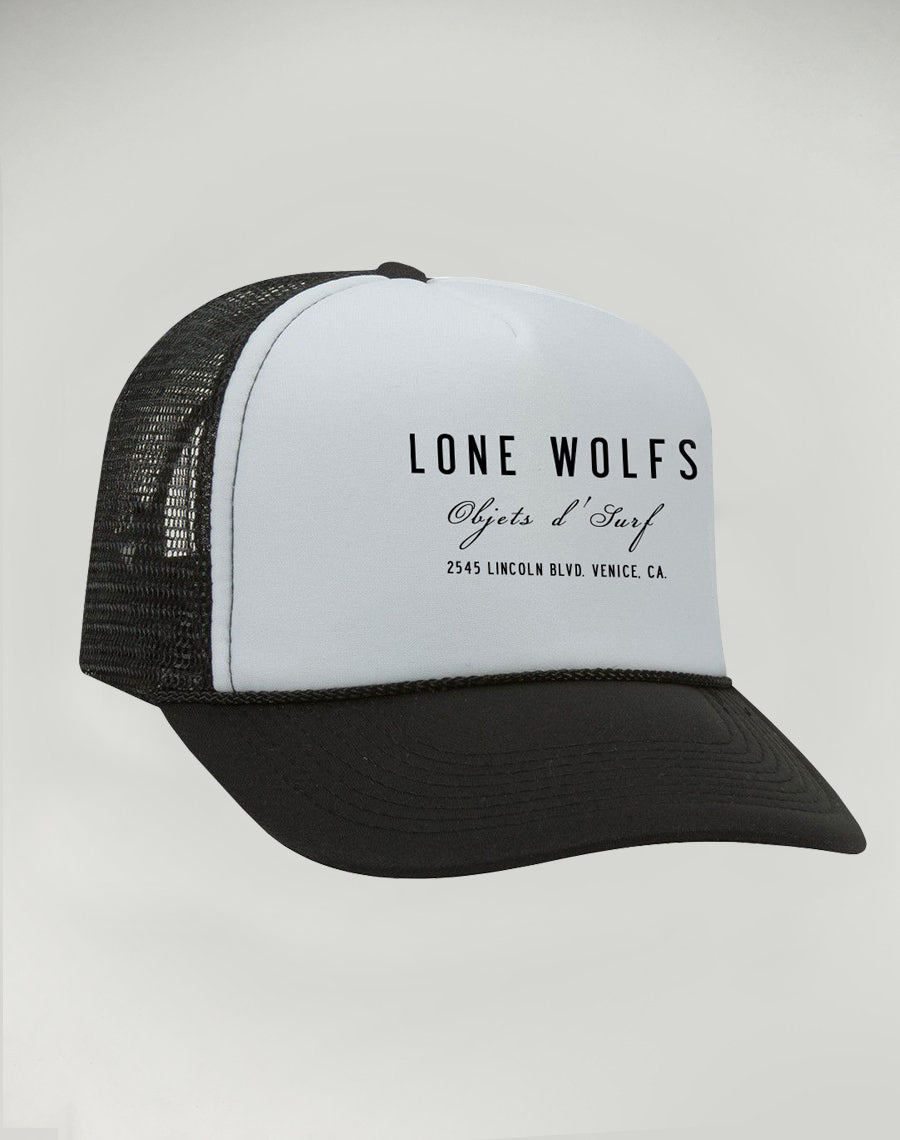 Lone Wolfs Foam Shop hat