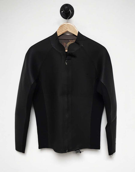 Lone Wolfs & Billabong Not Food Wetsuit Jacket Revolution Glide
