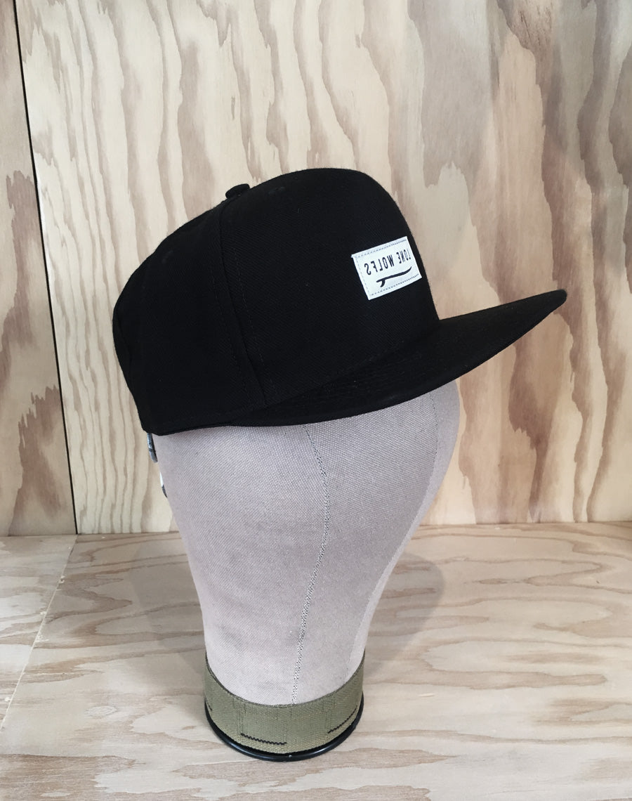 Lone Wolfs Surfboard Hat - Black