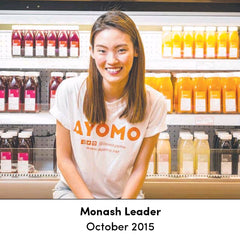 Ayomo as featured in Monash Leader
