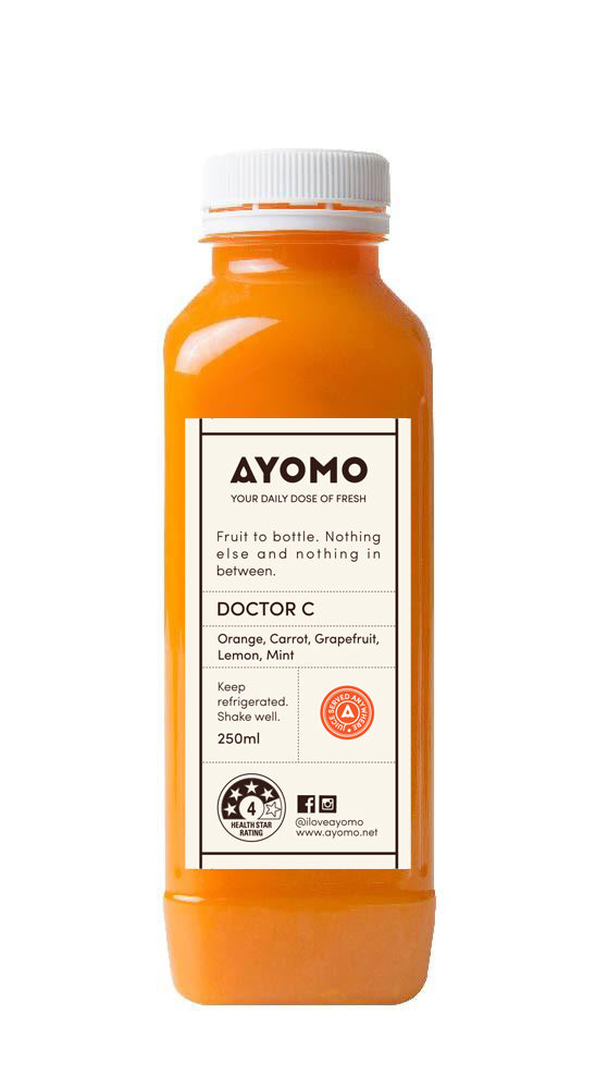 Doctor C - Cold Pressed Juice