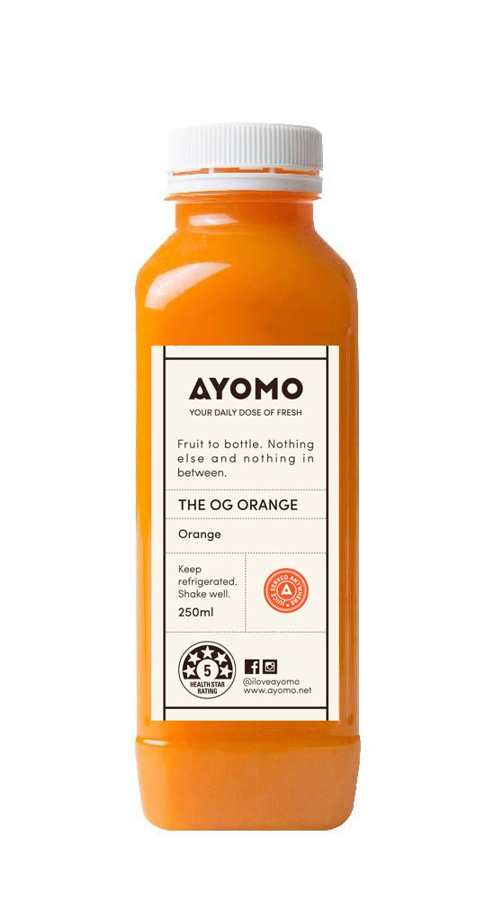 The OG Orange - Cold Pressed Juice