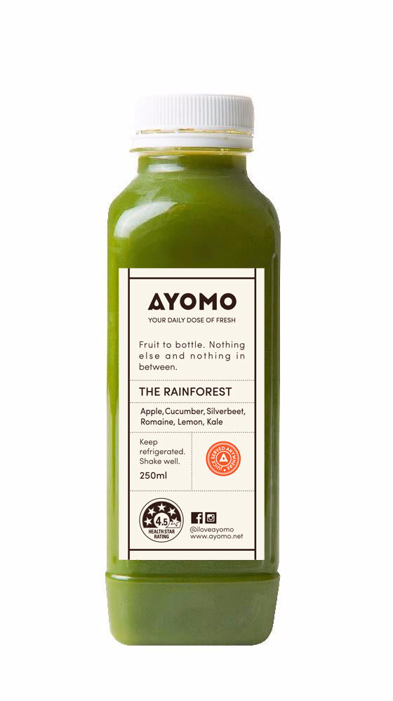 The Rainforest - Cold Pressed Juice