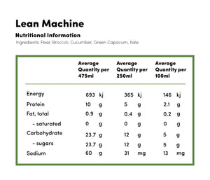 Lean Machine - Cold Pressed Juice -  - Coldpressed Juice - Ayomo - 2