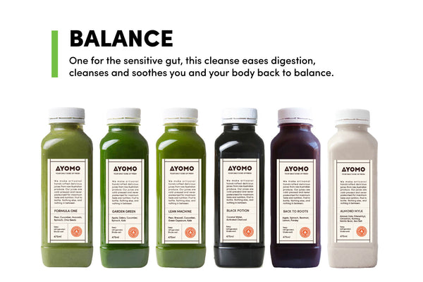 Balance - Cold Pressed Juice Cleanse -  - Juice Cleanse - Ayomo - 1