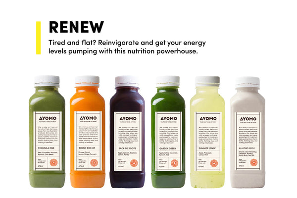 Renew - Cold Pressed Juice Cleanse -  - Juice Cleanse - Ayomo - 1
