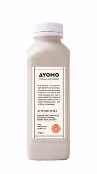 Almond Mylk - Cold Pressed Juice -  - Coldpressed Juice - Ayomo - 1