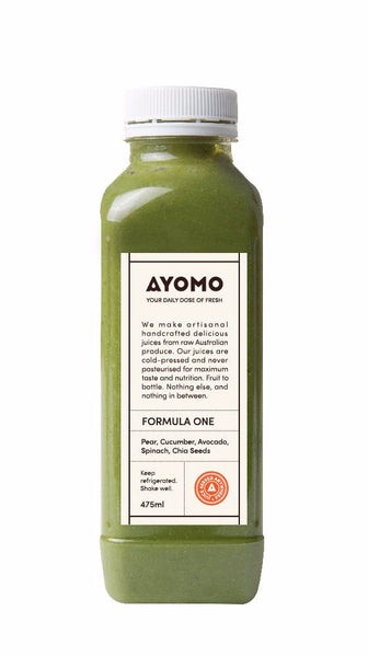 Formula One - Cold Pressed Juice -  - Coldpressed Juice - Ayomo - 1