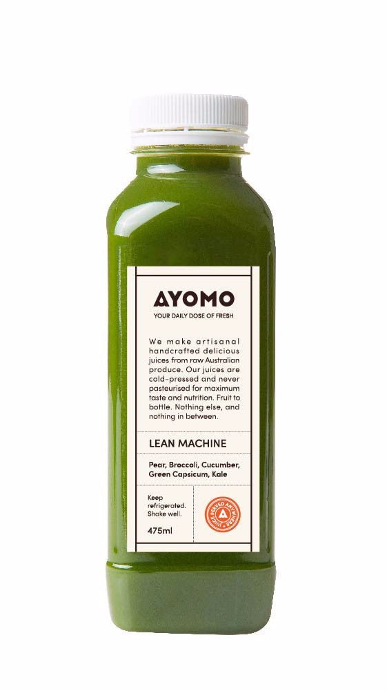 Lean Machine - Cold Pressed Juice -  - Coldpressed Juice - Ayomo - 1