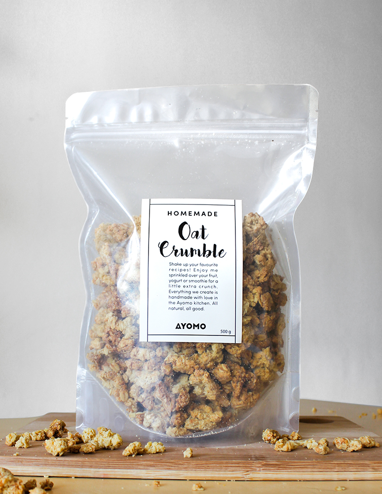 Homemade Oat Crumble -  - Raw Treats - Ayomo - 1