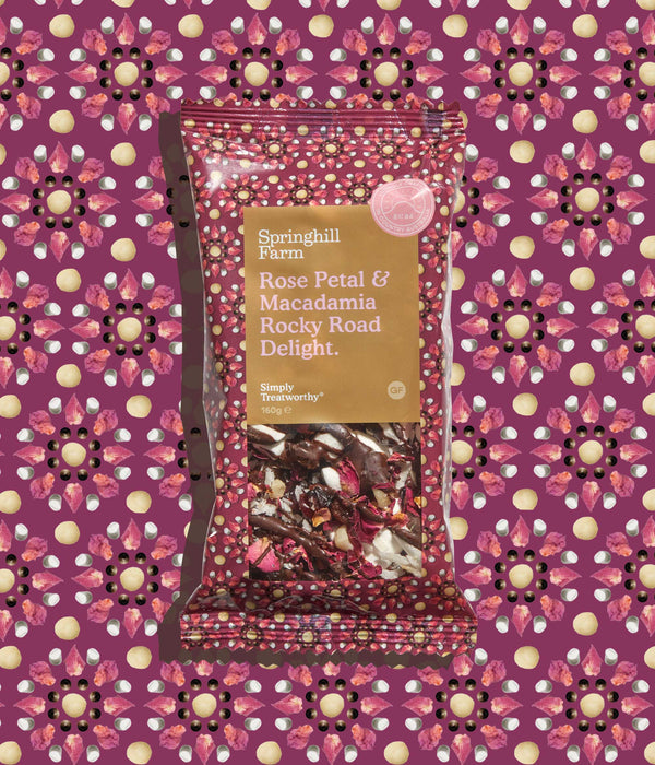 Mother's Day Rocky Road Slice Block