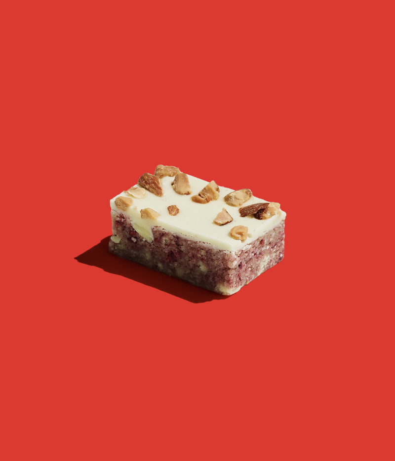 Raspberry & Almond Bite Slice (12 Bites Per Box)