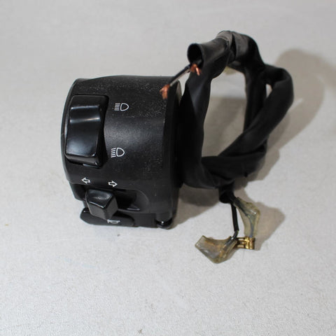 08-16 Yamaha Yzf R6 Left Clip On Handle Horn Signals Switch Switches
