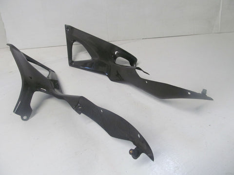 2011 2012 Ducati 848 Evo Aftermarket Left Right Lower Bottom Belly Side Fairing