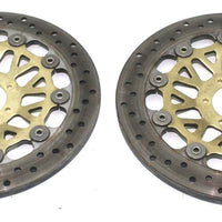 Honda 1996 1997 Cbr900rr 94-97 Interceptor 750 Front Left Right Brake Rotors