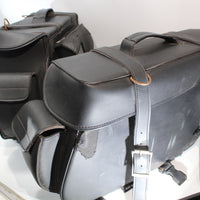 2000 Harley-davidson Heritage Softail Aftermarket Side Cargo Luggage Saddlebag