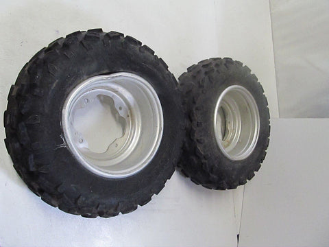12-13 Yamaha Yfz450 Oem Front Wheels Rims W Tires