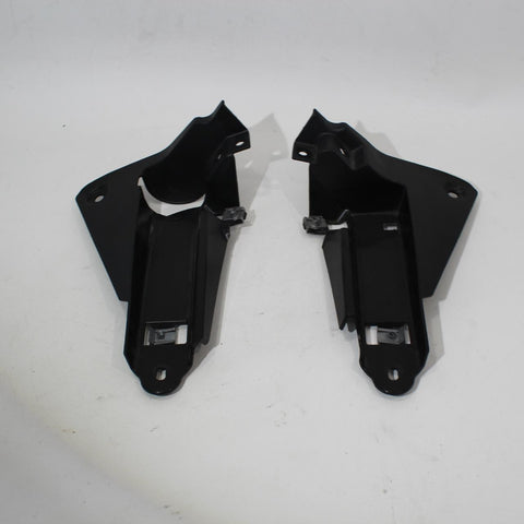 08-17 Triumph Street Triple R Right Left InnerRADIATOR COVER  Fairings Cowls Pan
