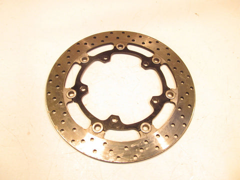 Yamaha YZF-R6 R6 2005 05 Left Front Brake Rotor / Disc  83921