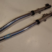 Yamaha XJ550 Maxim 550 1983 83 Forks / Front Suspension 125074