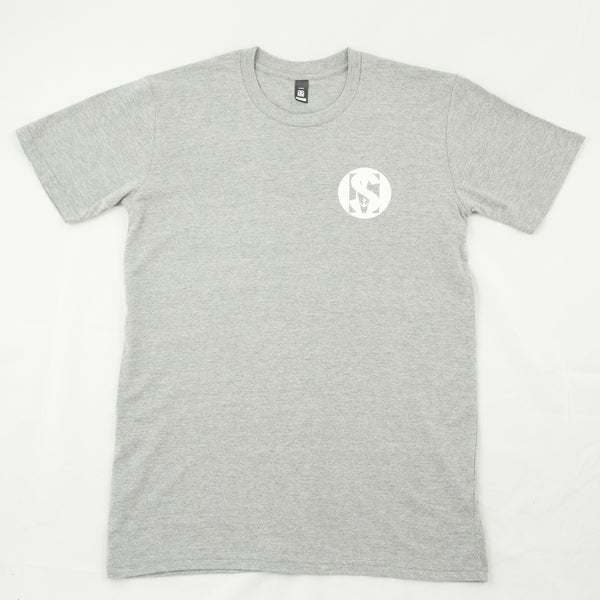 Grey SAILORMADE 100% cotton short sleeve tshirt
