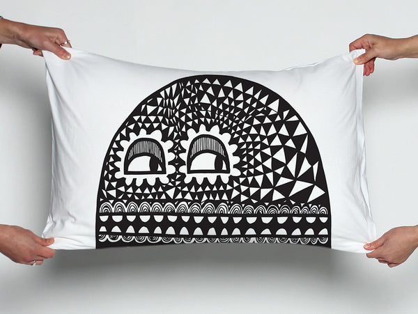 Faces Pillowcase Set