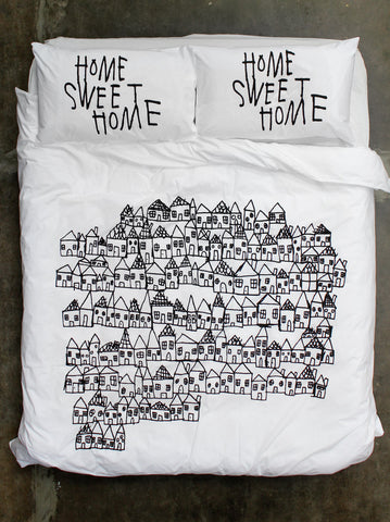 Home Sweet Home Quilt Cover