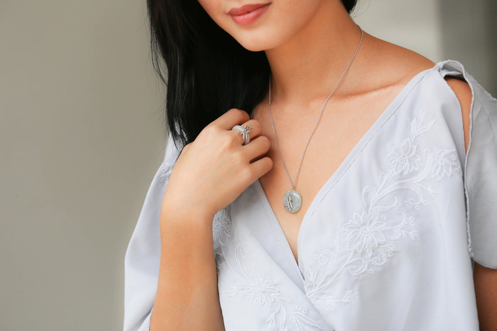 Choo Yilin Peranakan Bamboo Jade Jewelry Singapore Local Designer
