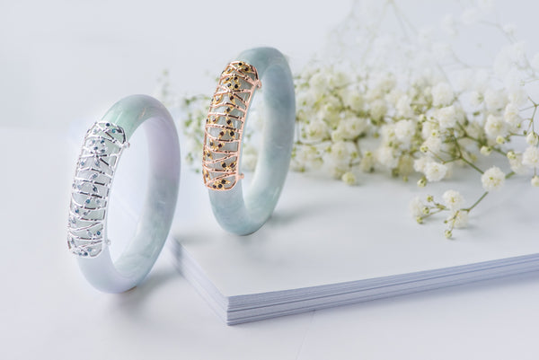 Choo Yilin Bamboo Forest Jade Bangle