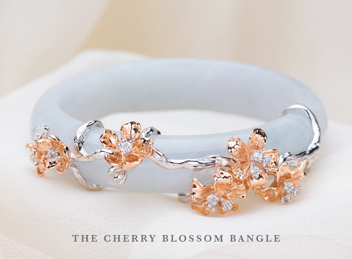 Cherry Blossom Bangle
