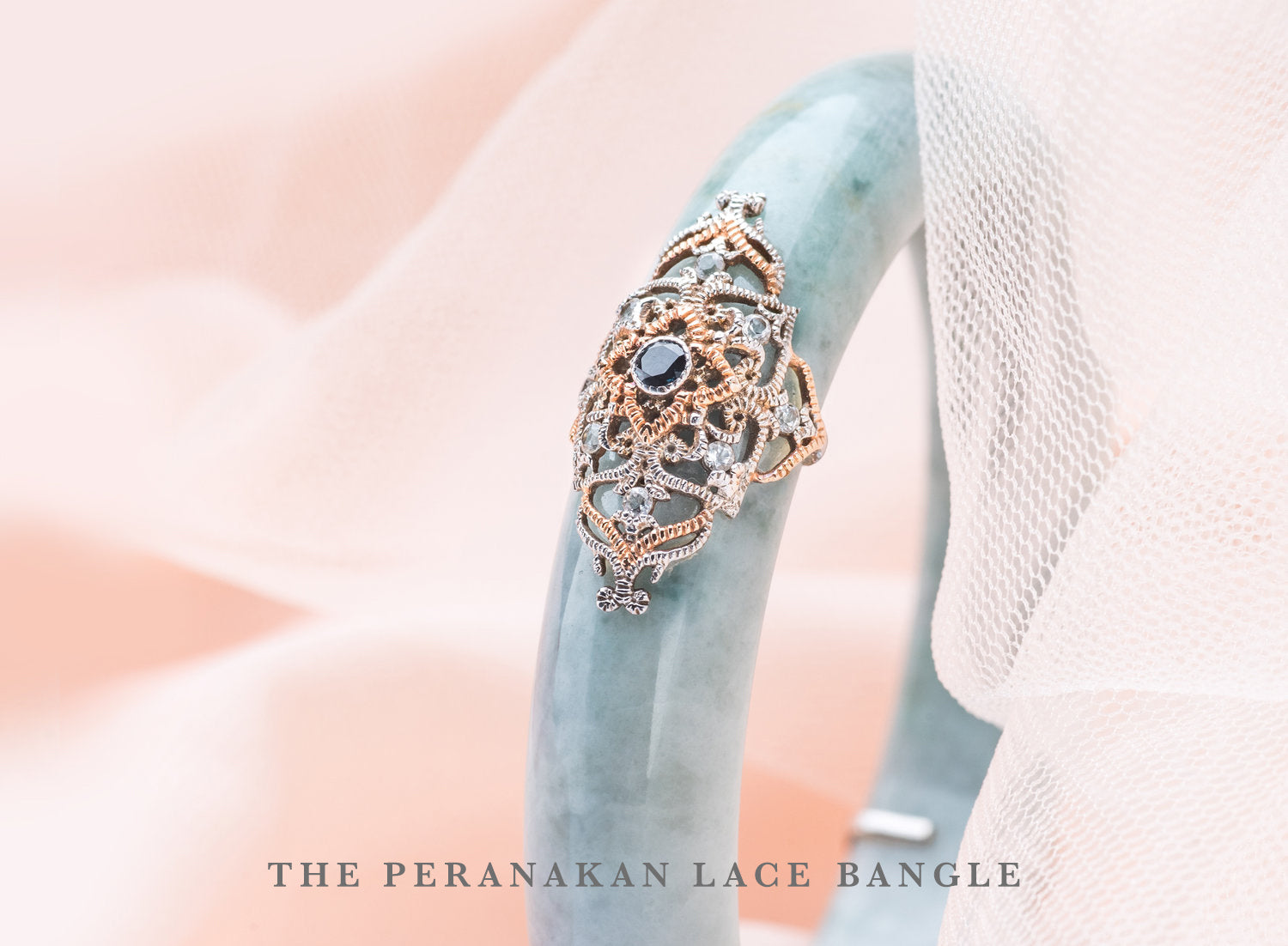 Peranakan Lace Bangle