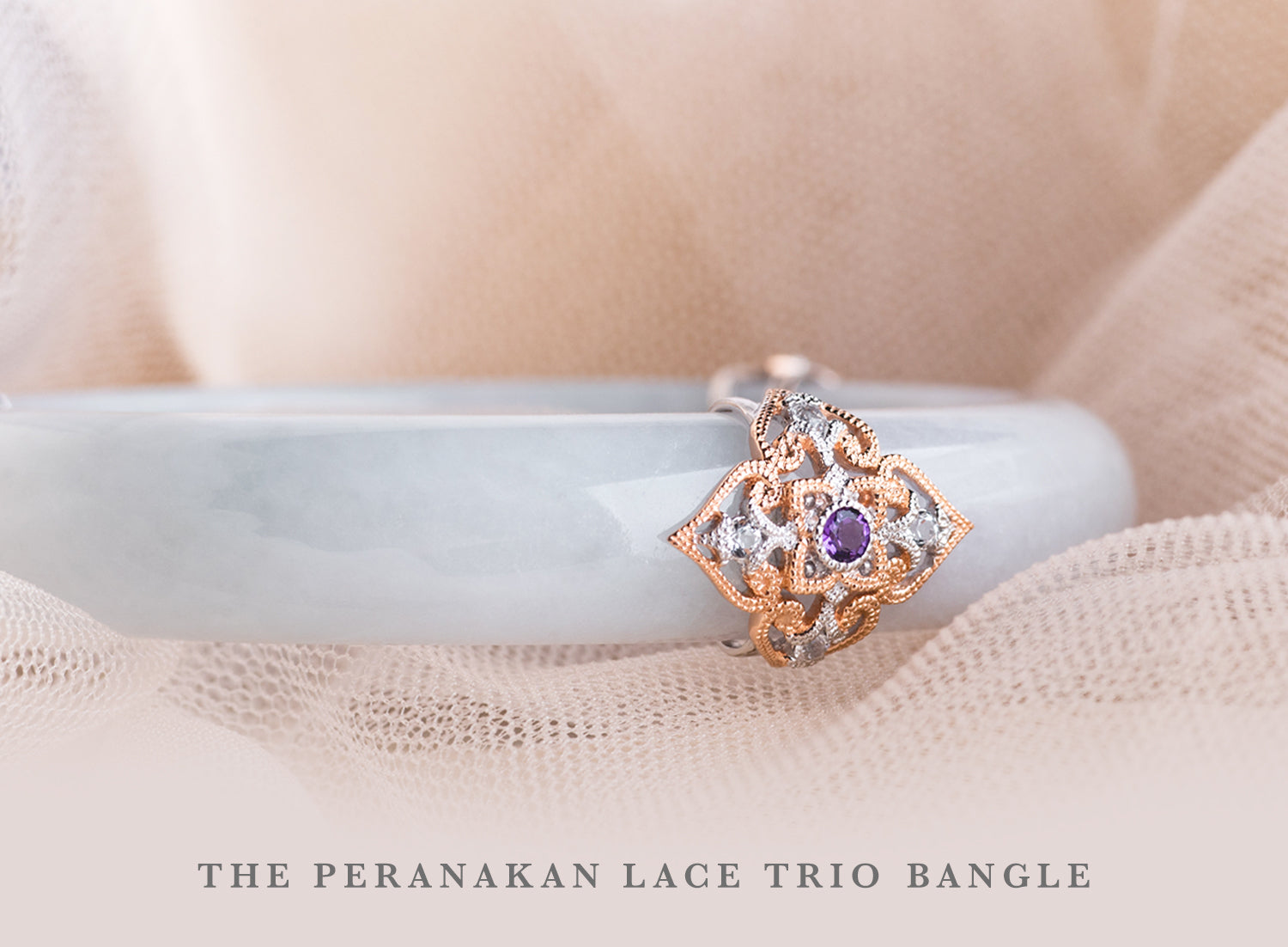 Peranakan Lace Trio Bangle