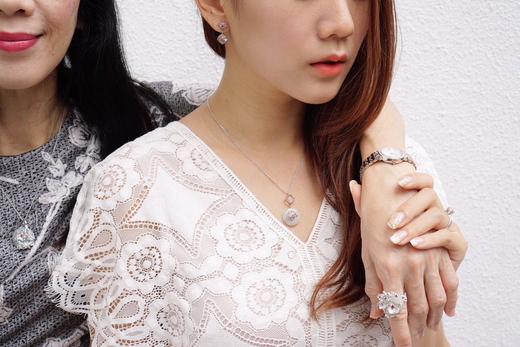 Choo Yilin Jade Jewellery Singapore Designer Traditional Love Story Mother Daughter Christmas Festive Gifting Guide