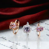 Engagement Spinel Ring 1.70cts Pinkish Purple