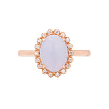Engagement Jade Ring 1.75ct Lavender