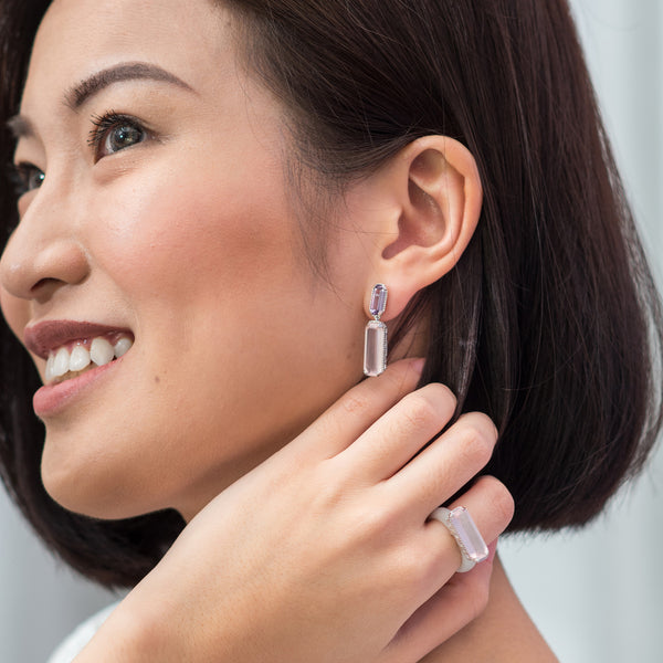 Shophouse Gemstone Earrings