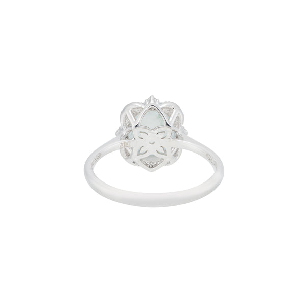 Engagement Jade Ring 2cts Ice