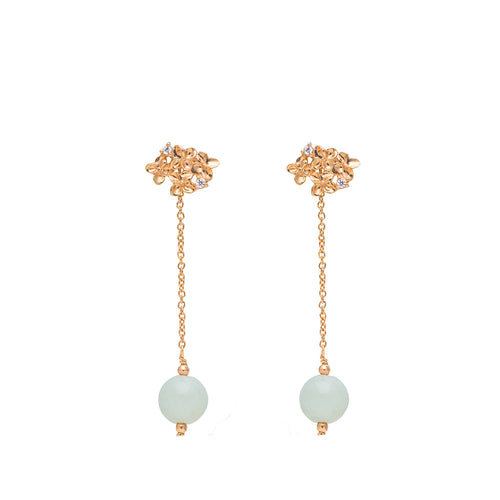 Hydrangea Convertible Earrings (9KT)