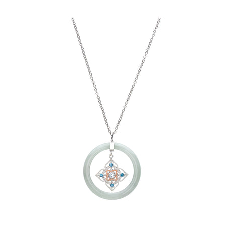 Sakura Garland Necklace (9KT)