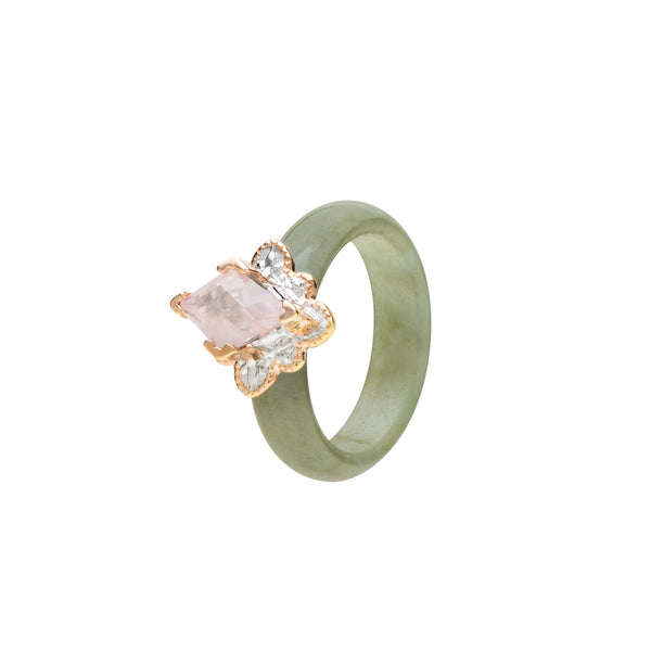 Kebaya Gemstone Ring (9KT)