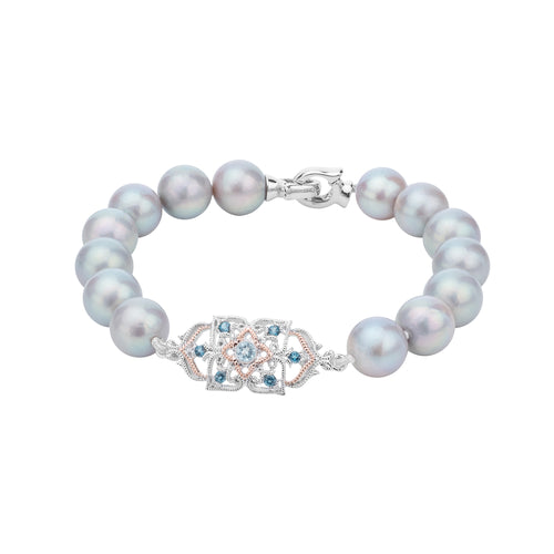 Peranakan Lace Pearl Bracelet (9KT Special Edition)