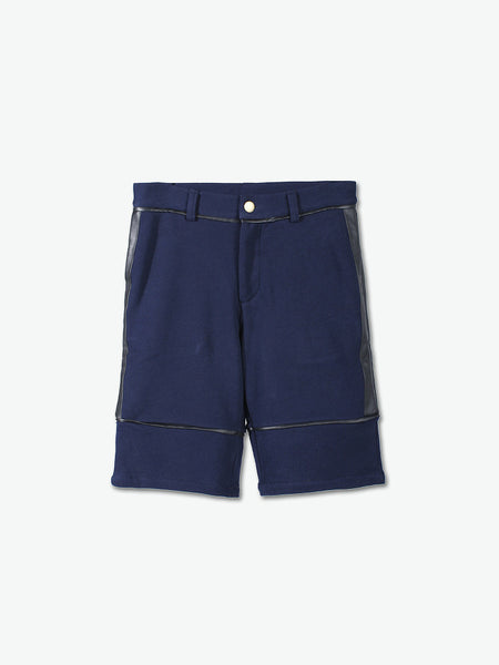 Check Point PU Detailed Shorts - daretodreamhk