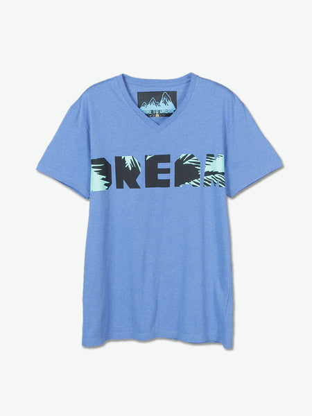 Coconut Dream T-Shirt (Blue) - daretodreamhk