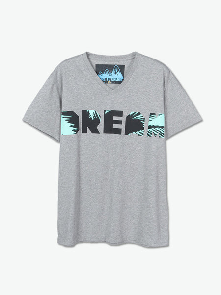 Coconut Dream T-Shirt (Grey) - daretodreamhk